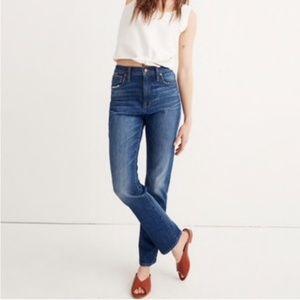 Madewell High-Rise Slim BoyJean
